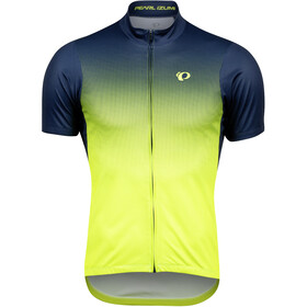 PEARL iZUMi Select LTD Maillot Manga Corta Hombre, navy/yellow transform